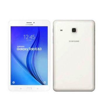 SAMSUNG Galaxy Tab E 四核心 8吋 T3777LTE版/16G加贈 三星原廠5200行動電源 白