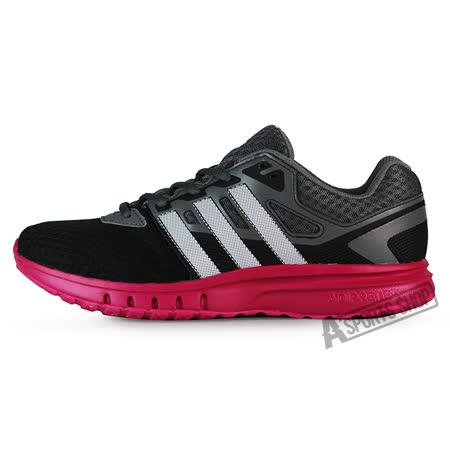ADIDAS (女) 愛迪達 GALAXY 2 W 休閒鞋 黑-AF5570