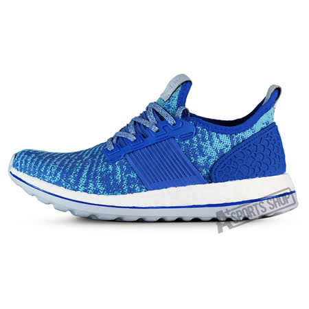 ADIDAS (女) 愛迪達 PUREBOOST ZG W 慢跑鞋 藍-AQ2932