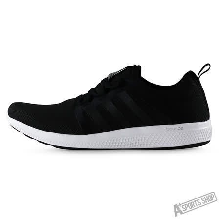 ADIDAS (男) 愛迪達 CC FRESH BOUNCE M 慢跑鞋 黑/白-AQ3126
