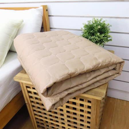 生活提案-精梳純棉 四季涼被單件-經典卡奇