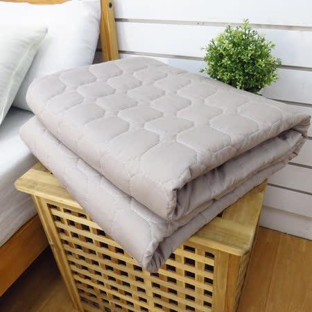 生活提案-精梳純棉 四季涼被單件-素雅灰