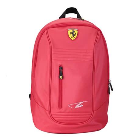 【Ferrari】義大利法拉利超跑多功能後背包TF025A(紅色)