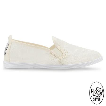 Flossy-(女款)DEIA西班牙方便鞋-奶油白