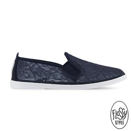 Flossy-(女款)DEIA西班牙方便鞋-海軍藍