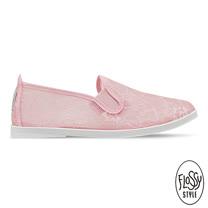 Flossy-(女款)DEIA西班牙方便鞋-淡粉紅