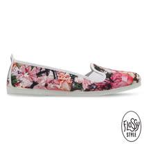 Flossy-(女款)POLLENSA西班牙方便鞋-粉紅碎花