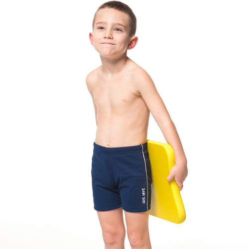【SARB愛 買 永和IS】泡湯SPA兒童五分泳褲附泳帽B63601