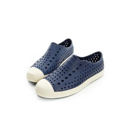 NATIVE(男女)奶油頭休閒鞋 深藍001004200