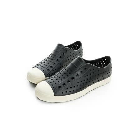 NATIVE(男女)懶人鞋 黑-001001100