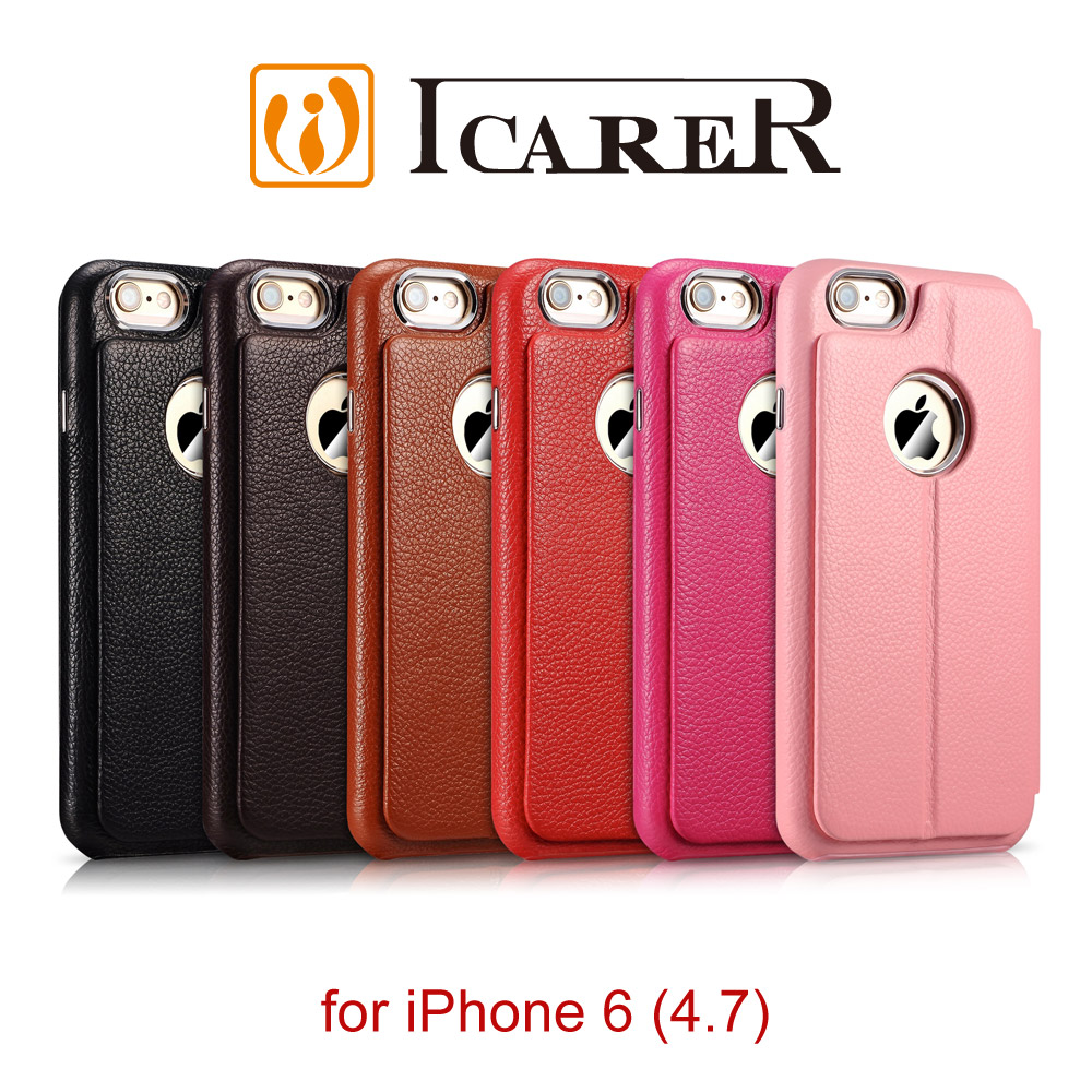 ICARER 變形金剛 iPhone 6 / 6S 多功能 手工真皮皮套