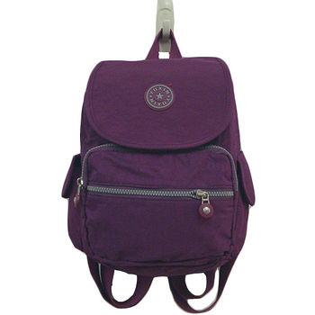 輕便雙肩後背包(紫)