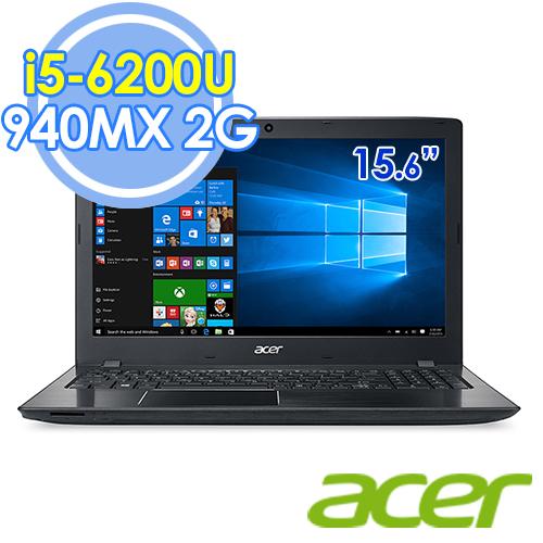 Acer E5-575G-51CZ 15.6吋FHD/i5-6200U 雙核/ 940MX 2G獨顯 筆電-送HP DJ1110彩色噴墨印表機(鑑賞期過後寄出)