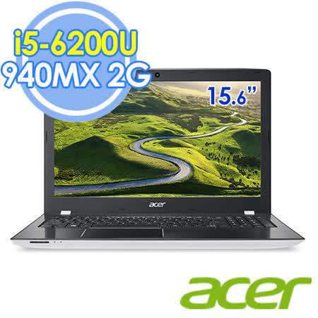 Acer E5-575G-54Y1 15.6吋 i5-6200UFHD/ i5-6200U雙核/940MX  2G獨顯 筆電-送Office 365個人版