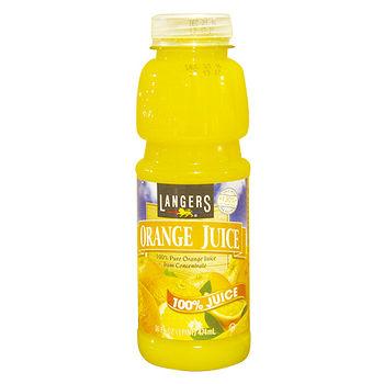 LANGERS 100%柳橙汁474ml