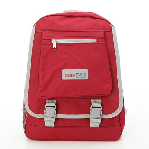 ~AOKANA奧卡納~超輕量簡約後背包 書包^(紅色1976^)~威奇包仔通~