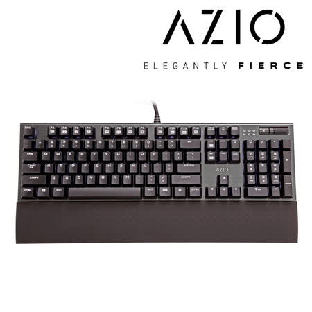 AZIO MGK1 背光機械遊戲鍵盤