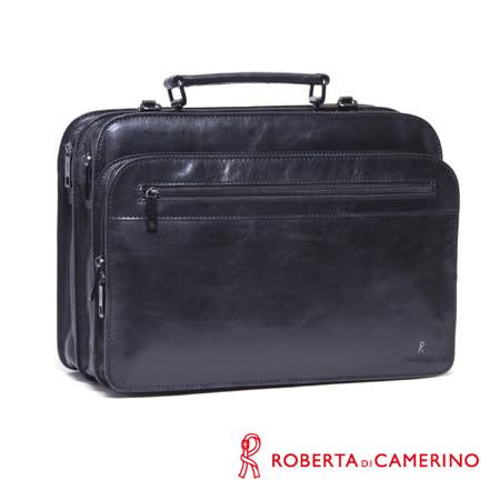 Roberta di Camerino 手提/側背兩用-原皮公事包