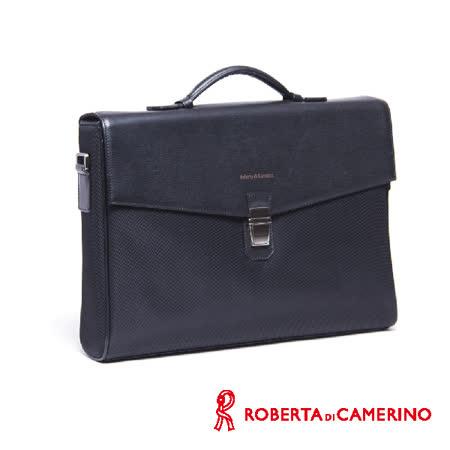 Roberta di Camerino 尼龍配皮公事包