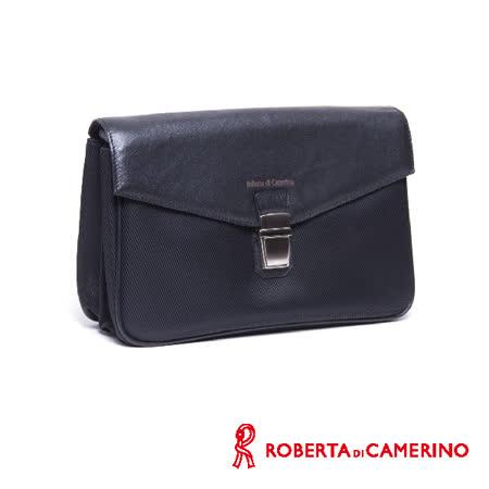 Roberta di Camerino 尼龍配皮手拿包