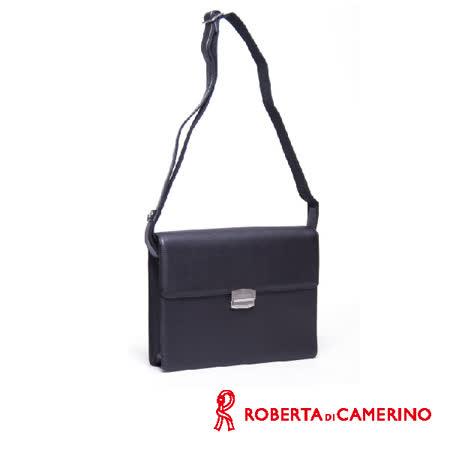Roberta di Camerino 全皮橫式側背包