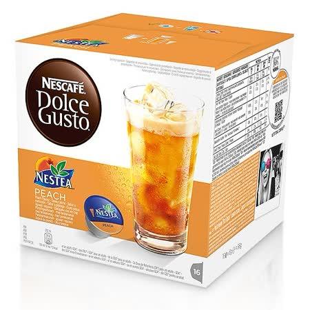 雀巢NESCAFE 茶品蜜桃茶膠囊(單盒)