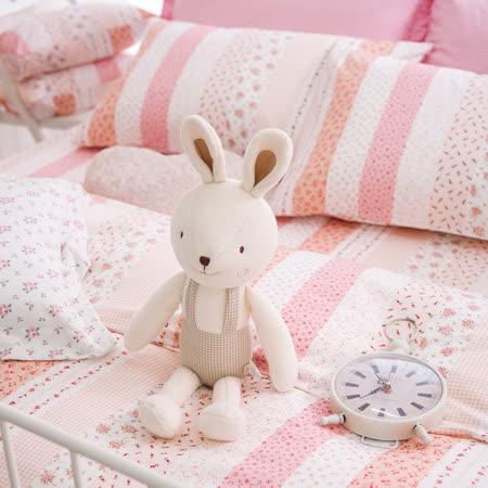 OLIVIA 《維多利亞 粉》單人床包枕套兩件組