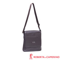 Roberta di Camerino 全皮直式側背包-咖啡色