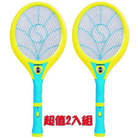 (超值2組入)【日象】大極特尚充電式電蚊拍 ZOM-4000