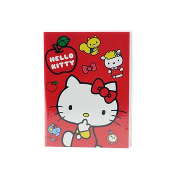 Hello Kitty 50K膠套筆記本(彩色內頁)(授權)(3入裝)