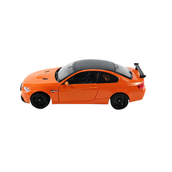 【KDW凱迪威】1:24 BMW M3 GTS(橘色) 高仿真精裝合金模型車(授權)(651004)