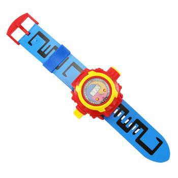 彩色投影幻燈片怪獸手錶(24款圖案)(附電池)