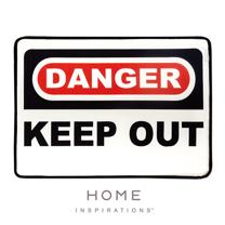 【Home】趣味記憶綿浴墊 - 危險禁入(Danger)