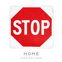 【Home】趣味記憶綿浴墊 - 全面停止Stop Sign