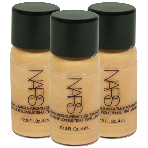 NARS 裸光奇肌粉底液(4ml)*3-LIGHT2 MONT BLANC 6432S