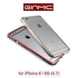 Ginmic 限量雙色 iPhone6 / 6S 4.7 傳奇系列 金屬保護邊框 後背蓋保護殼