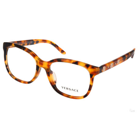 VERSACE 光學眼鏡 希臘風圖騰簡約款(琥珀) #VE3203A 5119