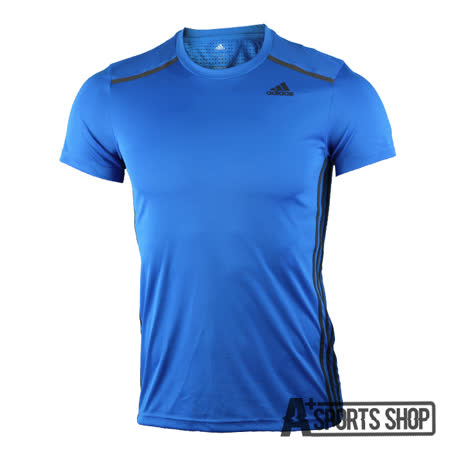 ADIDAS (男) 愛迪達 COOL365 TEE 短袖 藍-AI0321