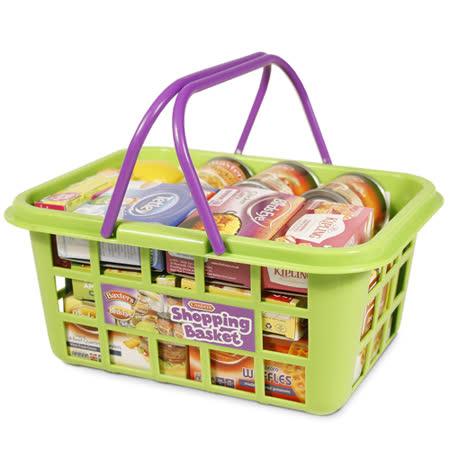 《 英國 CASDON 家電玩具 》超市購物提籃組