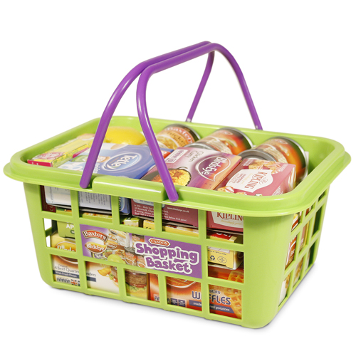 ~ 英國 CASDON 家電玩具 ~超市 提籃組