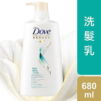 多芬日常修護洗髮乳680ml