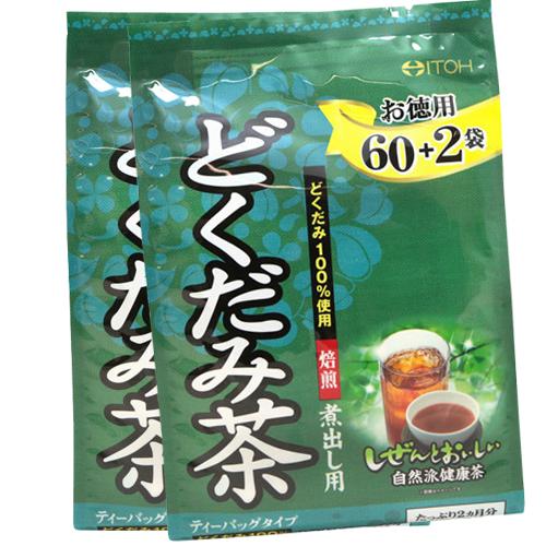 ~ITOH~ 藤井德用魚腥草茶2入組^(3g^~62袋入^)