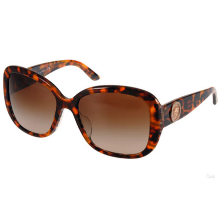VERSACE太陽眼鏡 華麗古典風大框款(亮粉琥珀) #VE4278BA 511613