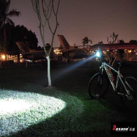 視睿Roxane專業腳踏車燈CREE T6 LED超強光車燈RX902T