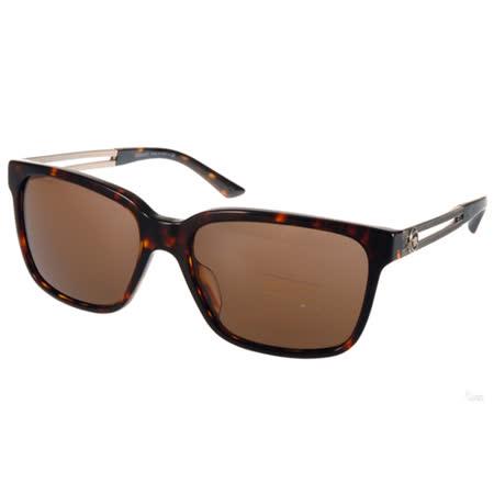 VERSACE太陽眼鏡 復古希臘風方框款(琥珀棕-銀) #VE4307A 10873