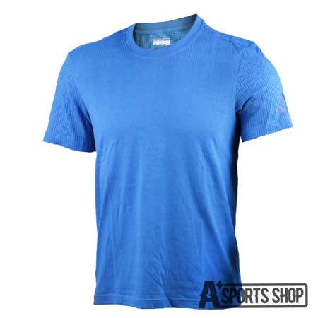 ADIDAS (男) 愛迪達 AEROKNIT TEE 短袖 藍-AI4459