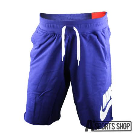 NIKE (男) 耐吉 NIKE AW77 FT ALUMNI SHORT 運動短褲 藍-678573457