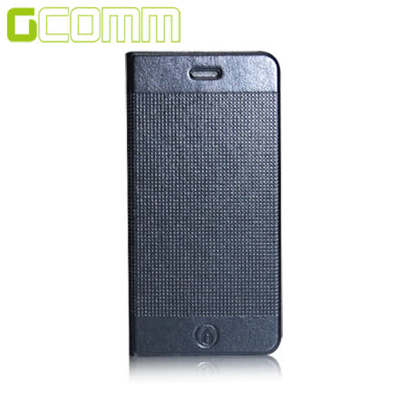 GCOMM iPhone6S/6 4.7吋 時尚凹凸圓點超纖皮套 紳士黑
