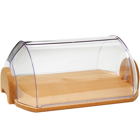 《EXCELSA》Realwood掀蓋式麵包收納盒(30cm)