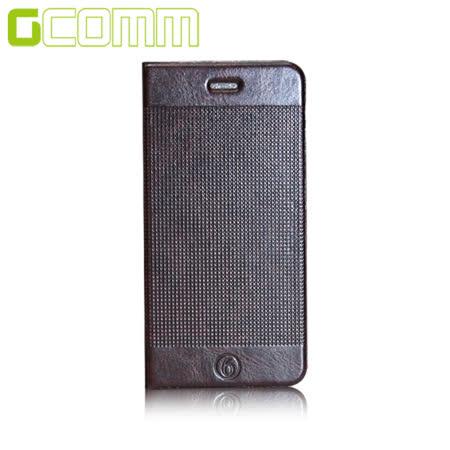 GCOMM iPhone6S/6 4.7吋 時尚凹凸圓點超纖皮套 深咖啡